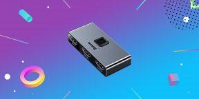 Надо брать: HDMI-переключатель от Baseus