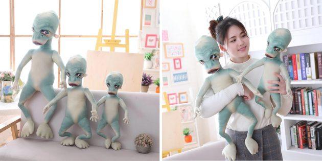 Странные вещи с AliExpress: игрушка в виде инопланетянина