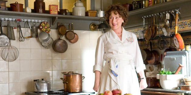 Фильмы про еду: «Джули и Джулия: Готовим счастье по рецепту»