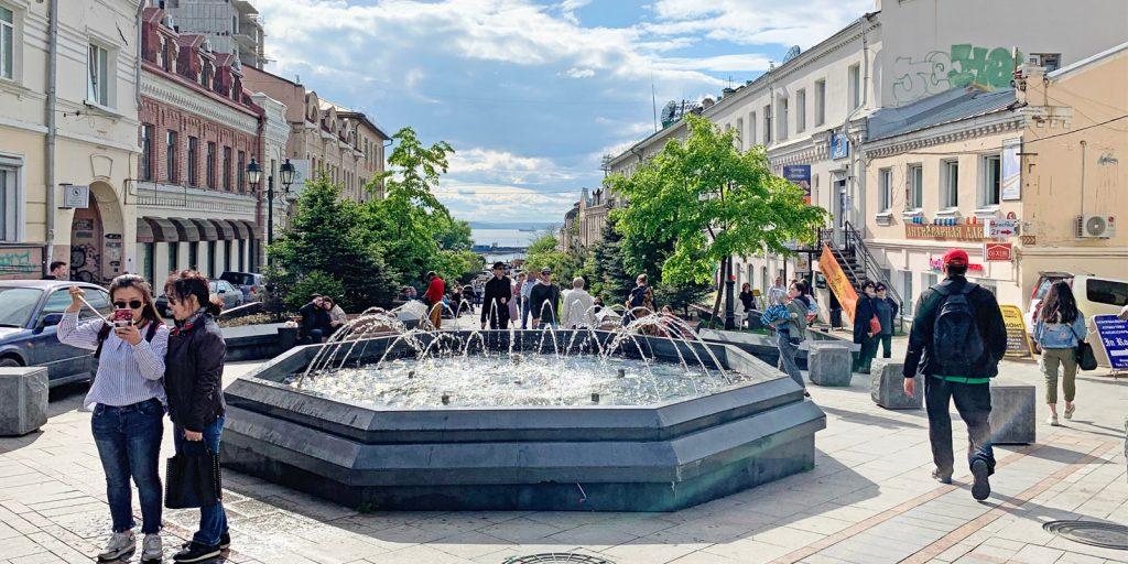 Достопримечательности Владивостока: улица Адмирала Фокина