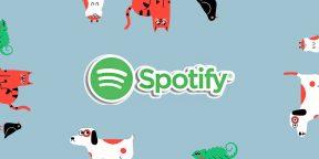 Как в Spotify сделать плейлист для своей собаки, кошки или другого питомца