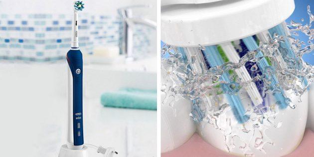 электрические зубные щетки: Braun Oral-B Pro 2000