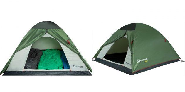Палатки: Outventure Dome 3