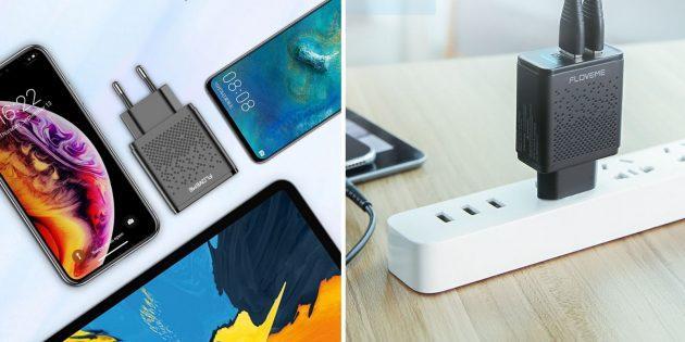 Floweme Dual USB Charger