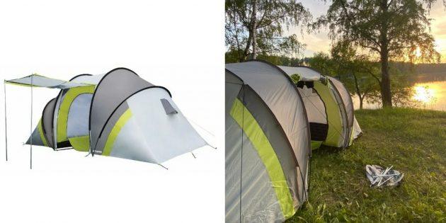 Палатки: Atemi Seliger 4CX