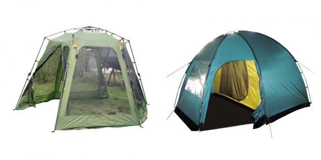 Что подарить мужчине на день рождения: палатка