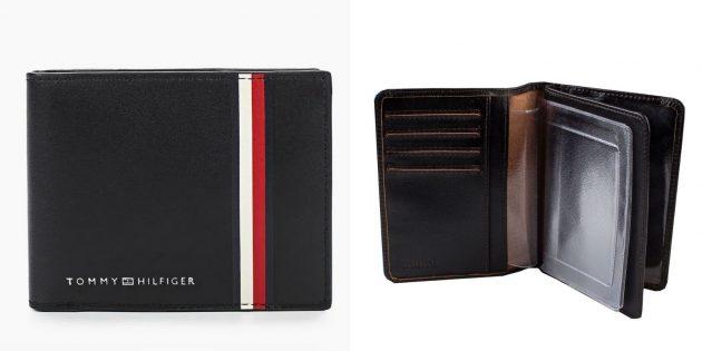 Подарки мужчине на день рождения: кожаный бумажник