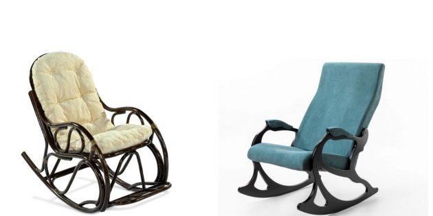 Подарки мужчине на день рождения: кресло-качалка