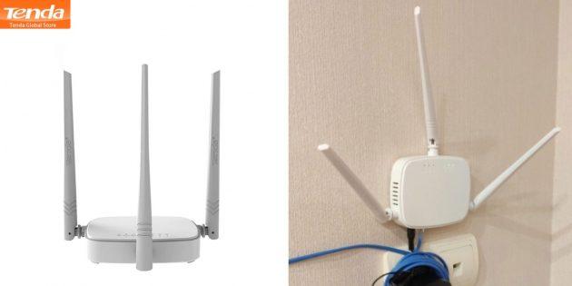 Wi-Fi-роутеры: Tenda N318