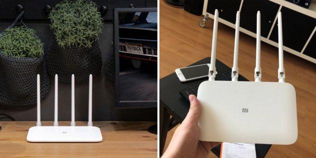 Wi-Fi-роутеры: Xiaomi Mi Router 4A / 4A Gigabit Edition