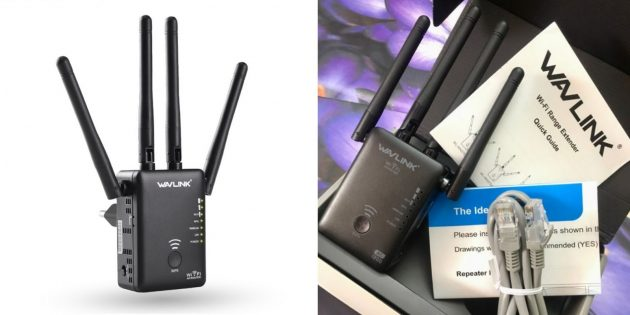 Wi-Fi-роутеры: Wavlink AC1200