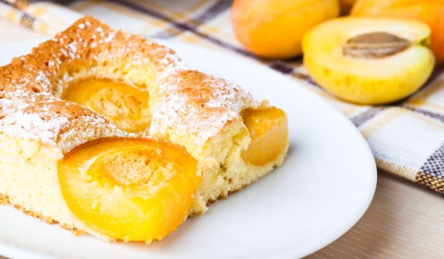 Австрийский пирог с абрикосами