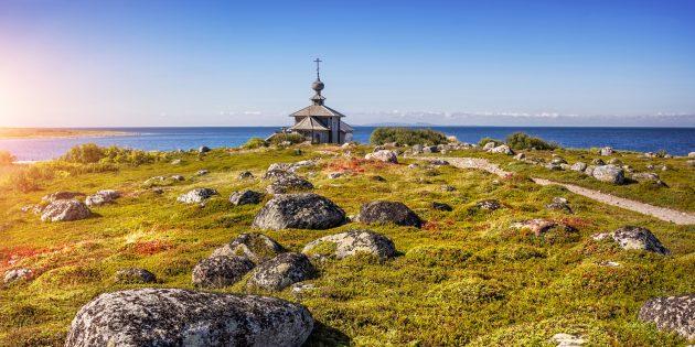 Самые красивые места России: Соловецкие острова
