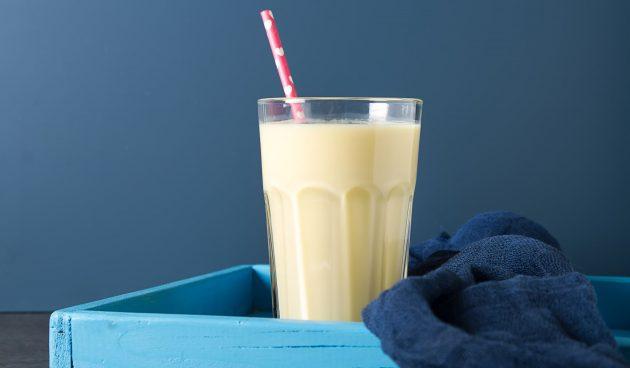 Кофейный молочный коктейль с мороженым