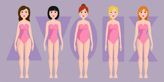 Как выбирать тренировки для девушек по типу фигуры
