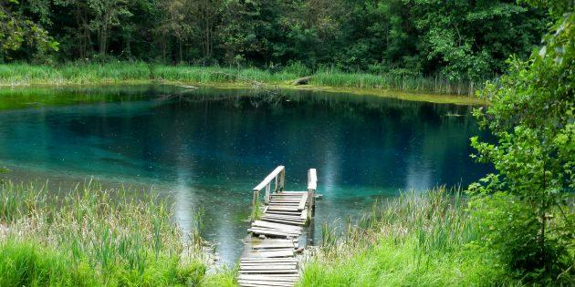 Самые красивые места России: Голубые озёра