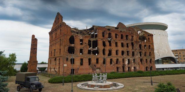Что посмотреть в Волгограде: руины мельницы Гергардта