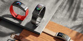 Huawei представила TalkBand B6 — фитнес-трекер, который можно использовать как Bluetooth-гарнитуру