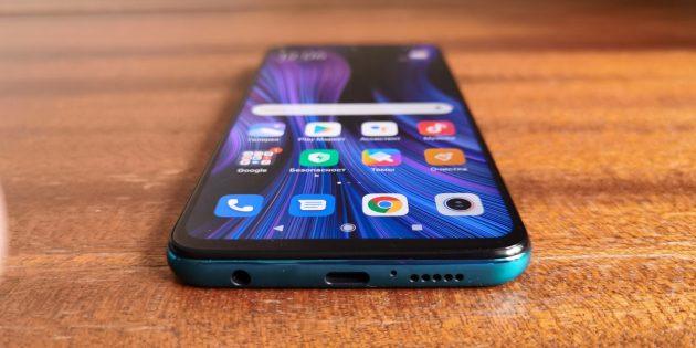 Redmi Note 9Pro: динамик