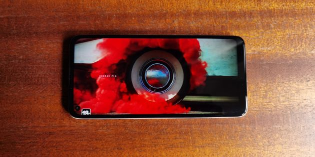 Motorola Moto G8: экран