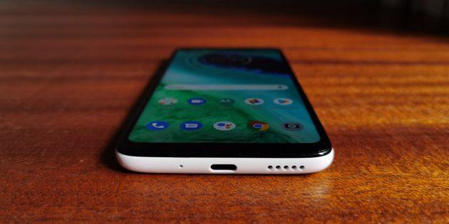 Motorola Moto G8: звук и вибрация