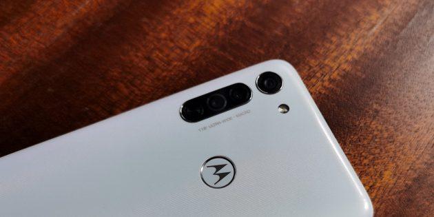 Motorola Moto G8: камера