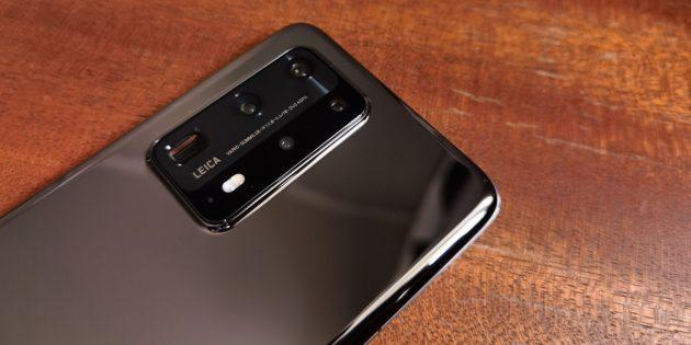 Камера Huawei P40Pro+