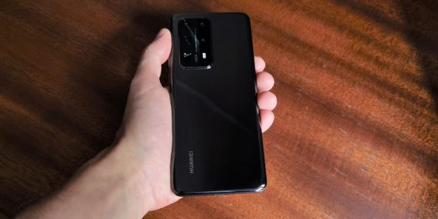Дизайн Huawei P40Pro+