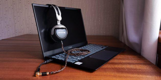 Звук ASUS ZenBook 13 UX325