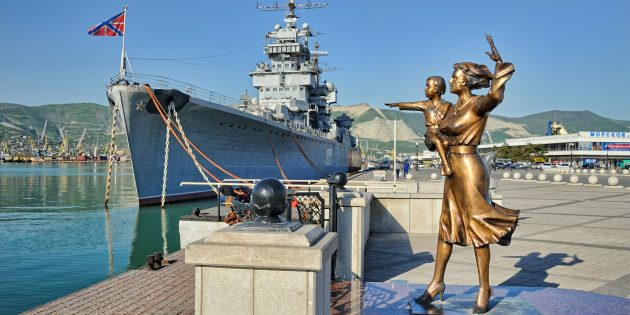 Что посмотреть в Новороссийске: корабль боевой славы «Михаил Кутузов»