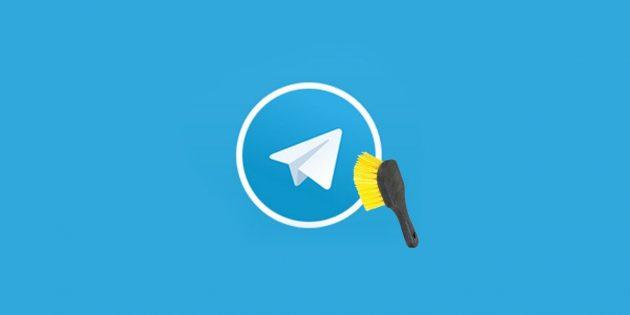 Что делать, если Telegram занимает слишком много места в памяти смартфона