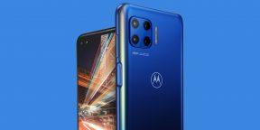 Motorola представила топовый середнячок Moto G 5G Plus с 6 камерами