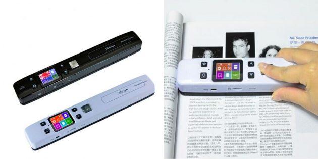 необычные гаджеты: портативный сканер iScan