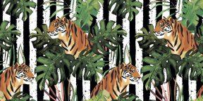 Проверка на внимательность: сколько тигров на картинке? Посчитайте!