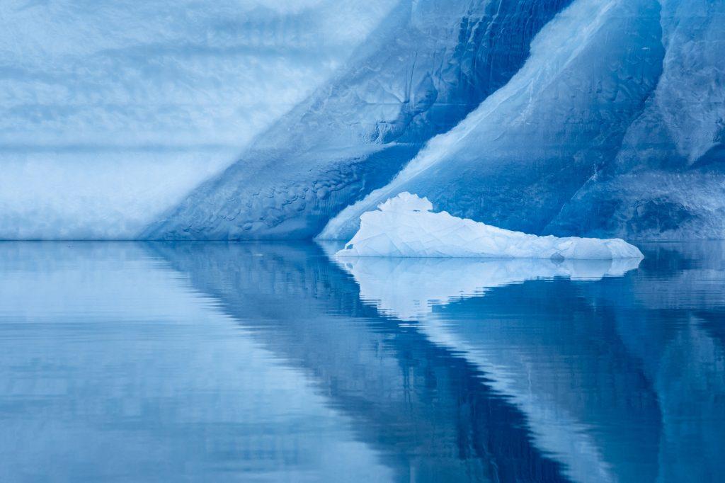 Красивые фотографии: «Контуры айсбергов», Роб Уэйр