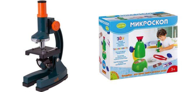 Подарки мальчику на 5лет на день рождения: микроскоп