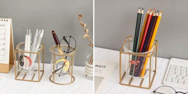 предметы интерьера: стаканы