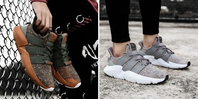 кроссовки на осень с объёмной подошвой