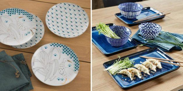 Что подарить на свадьбу: набор тарелок