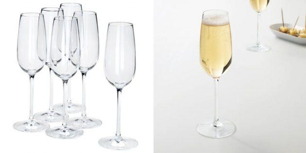 Что подарить на свадьбу: бокалы