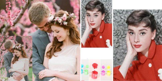 Что подарить на свадьбу: картина с изображением молодожёнов