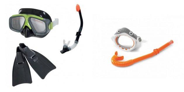 Что подарить мальчику на 5лет на день рождения: набор для подводного плавания