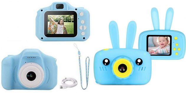 Подарки мальчику на 5лет на день рождения: детский фотоаппарат