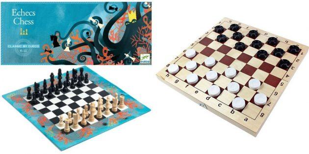 Шашки или шахматы