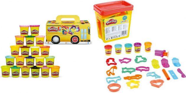 Подарки мальчику на 5лет на день рождения: набор пластилина