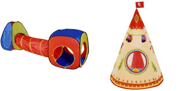 Подарки мальчику на 5лет на день рождения: игровая палатка