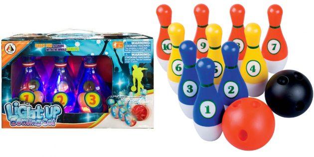 Что подарить мальчику на 5лет на день рождения: боулинг