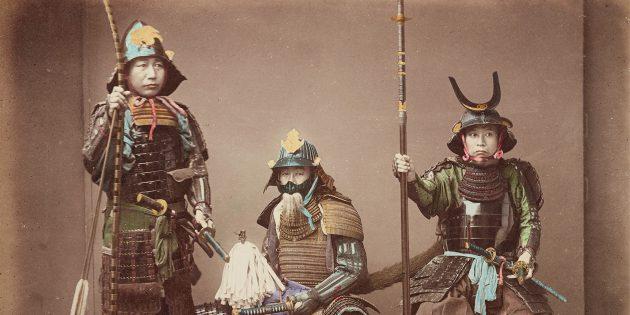 Главное оружие самурая — катана