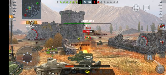 World of Tanks: Blitz на Huawei