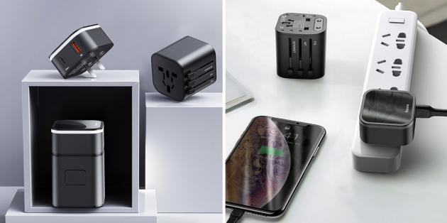 Baseus International Plug Power Adapter